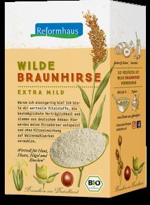 Wilde Braunhirse : Reformhaus Produkt Packshot