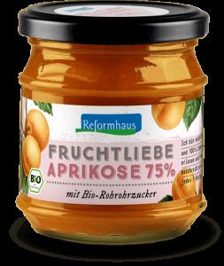 Fruchtliebe - Aprikose : Reformhaus Produkt Packshot