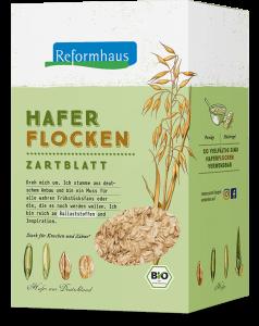 Haferflocken : Reformhaus Produkt Packshot