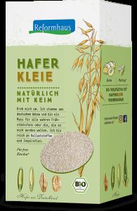 Haferfkleie : Reformhaus Produkt Packshot