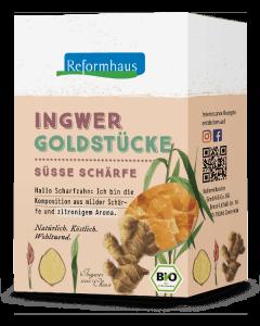 Ingwer Goldstücke : Reformhaus Produkt Packshot