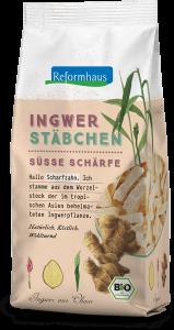 Ingwer Stäbchen : Reformhaus Produkt Packshot