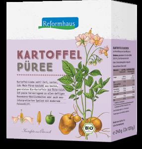 Kartoffelpüree : Reformhaus Produkt Packshot
