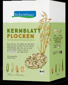 Kernblatt-Flocken : Reformhaus Produkt Packshot