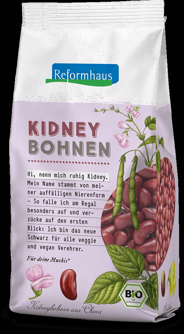 Kidney Bohnen - fein : Reformhaus Produkt Packshot