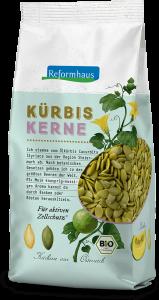 Kürbiskerne : Reformhaus Produkt Packshot