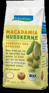 Macadamia Nusskerne geröstet : Reformhaus Produkt Packshot