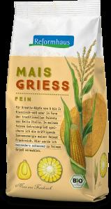 Mais Griess - fein : Reformhaus Produkt Packshot