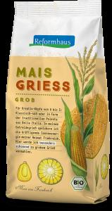 Mais Griess - grob : Reformhaus Produkt Packshot