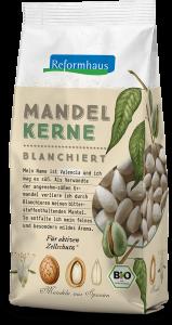 Bio Mandelkerne blanchiert : Reformhaus Produkt Packshot