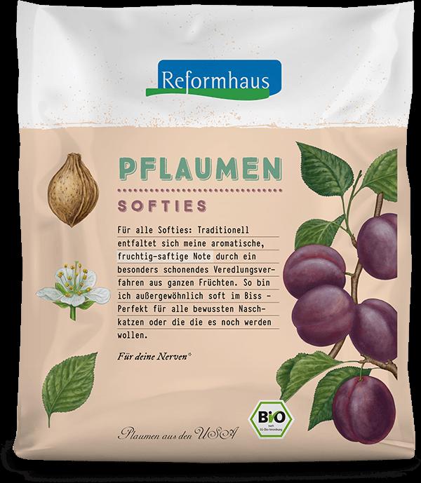 Pflaumen Softies : Reformhaus Produkt Packshot
