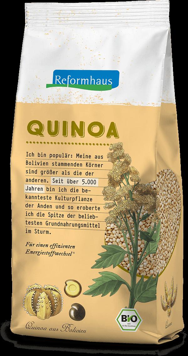 Quinoa : Reformhaus Produkt Packshot