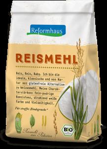 Reismehl : Reformhaus Produkt Packshot