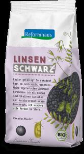 Schwarze Linsen : Reformhaus Produkt Packshot