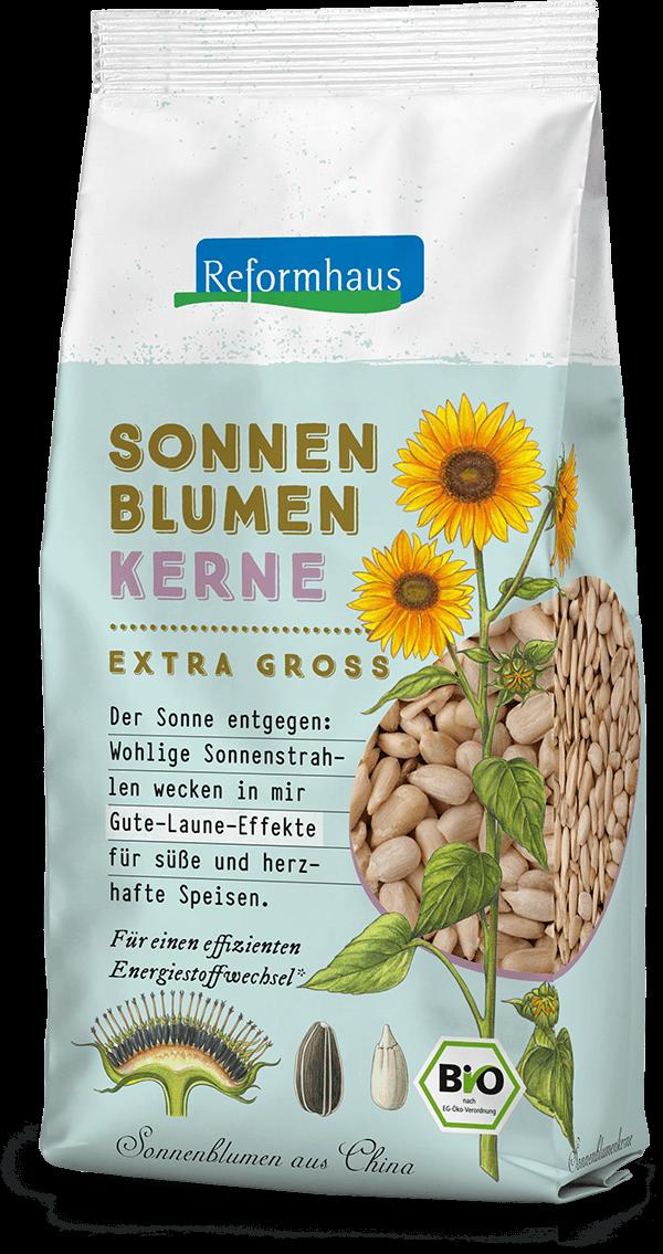Sonnenblumenkerne Extra Groß : Reformhaus Produkt Packshot