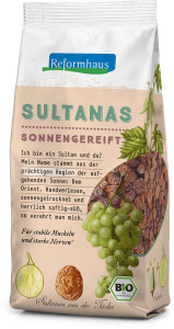 Sultanas : Reformhaus Produkt Packshot