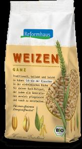 Weizen : Reformhaus Produkt Packshot