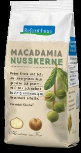 Bio Macadamia Nusskerne : Reformhaus Produkt Packshot