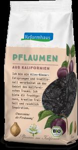 Bio Pflaumen : Reformhaus Produkt Packshot