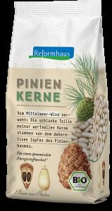 Bio Pinienkerne : Reformhaus Produkt Packshot