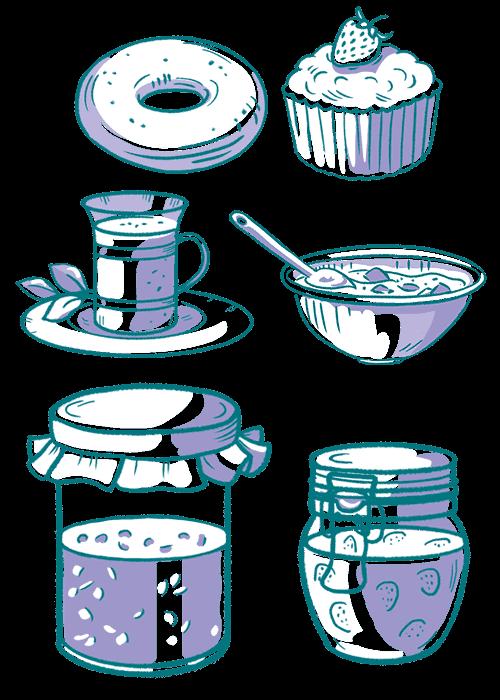 Botanical / Illustration von Sucolin